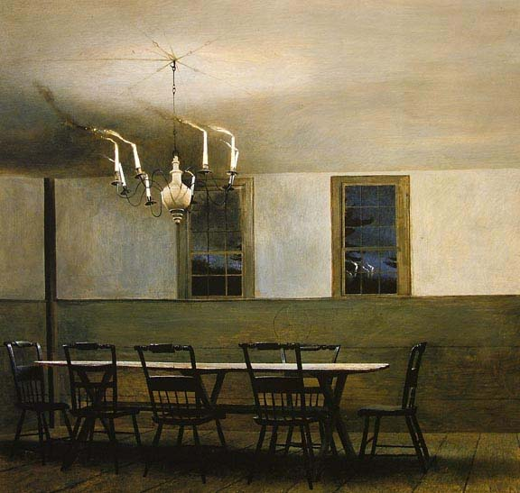 andrew wyeth print witching hour